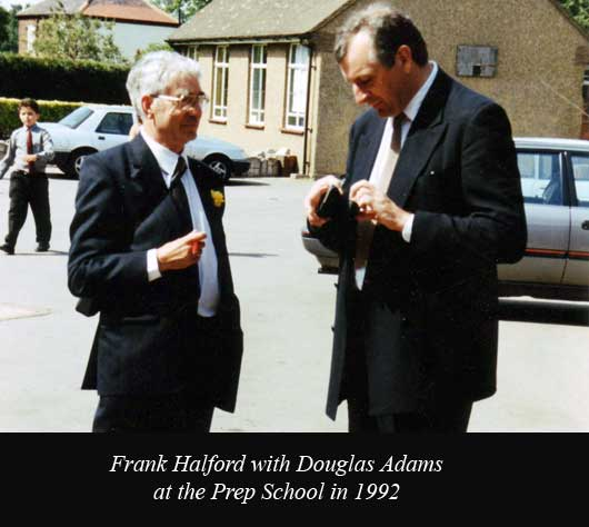 Frank Halford and Douglas Adams