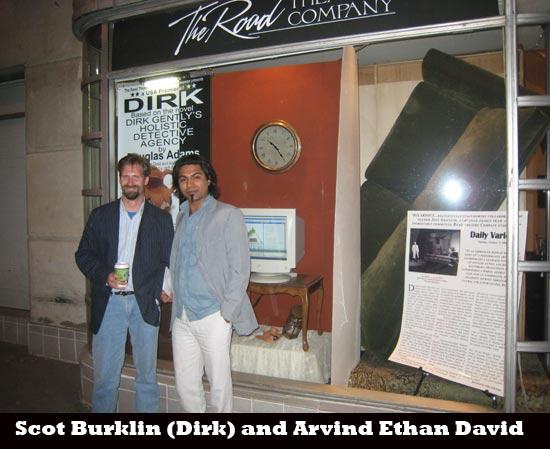 Scot Burklin and Arvind Ethan David