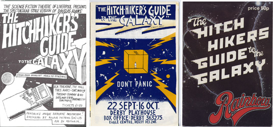 The Hitchhiker's guide to the galaxy on stage